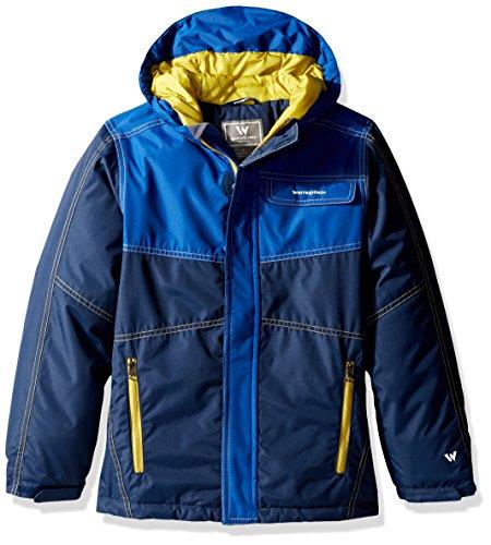 - White Sierra Youth Boys Casper Insulated Jacket, Navy, Small