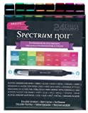 Spectrum Noir Alcohol Markers - Brights - 24 Pack