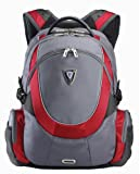 Sumdex PON-367RD Full Speed Armor Backpack for up to 15.6 Inch PC (Red)