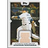 fan products of 2008 Topps Dioner Navarro Rays Game Used Bat Baseball Card #RR-DN