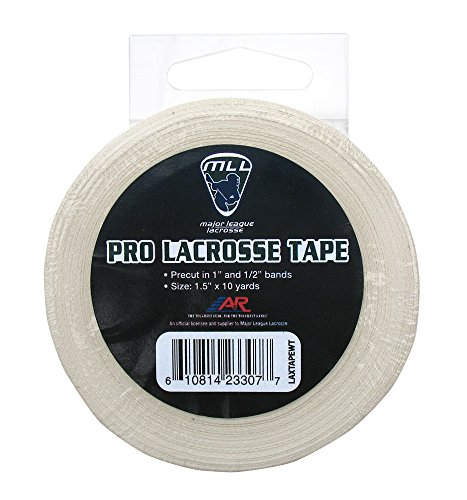 A&R Sports Major League Lacrosse White Pro Lacrosse Stick Tape