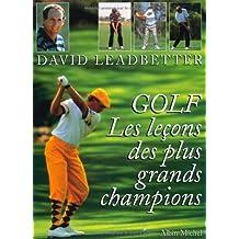 Golf: Les leçons des plus grands champions