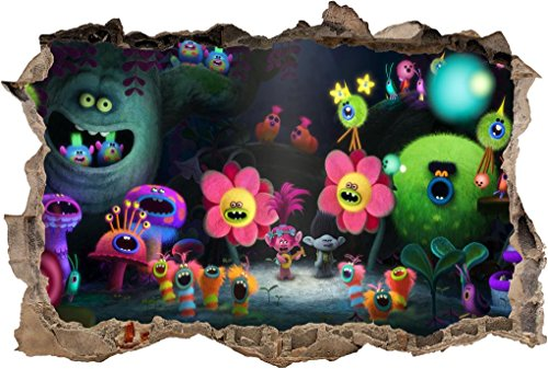 Trolls Graphic Wall Sticker
