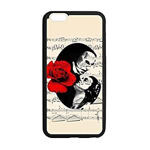 Great Phantom of the Opera and Anti-Skid then Slim & Lightweight TPU be Case Shell Cover for iphone 6 4.7