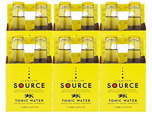 Llanllyr Source, Water Tonic, 6.8 Fl Oz, 4 Pack