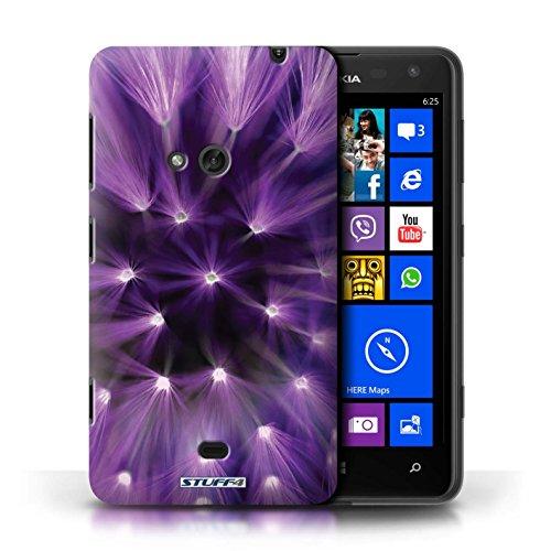 Etui / Coque pour Nokia Lumia 625 / Pourpre conception / Collection de Couleur/Lumière Fleur