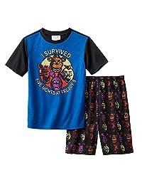 Boy's Size 8 I Survived Five Nights at Freddy's Gaming Pajama Shorts Set