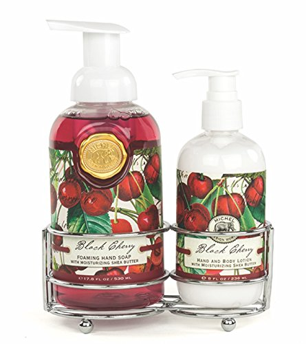 Michel Design Works Foaming Hand Soap and Lotion Caddy Gift