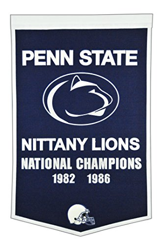 NCAA Penn State Nittany Lions Dynasty Banner (Banner Lions Penn State Wall Nittany)