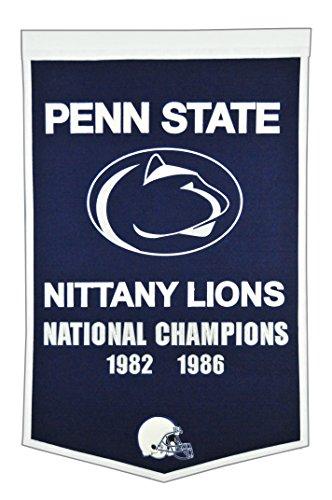 (Winning Streak NCAA Penn State Nittany Lions Dynasty Banner)
