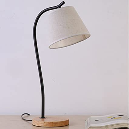 Led Table Lamps Good Contemporary Japanese Style Table Lamp Wooden Bedside With Fabric Lampshade Desk Light For Living Room
