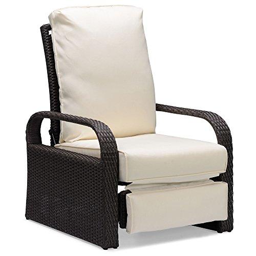 Amazon.com: Silla reclinable de aire libre para patio ...