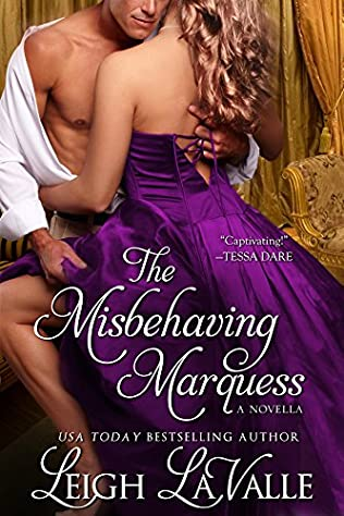 book cover of The Misbehaving Marquess