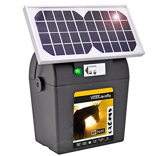 9V Batteriegerät Solar Modul Solar-Zelle Elektrozaun Weidezaun Schlaggerät