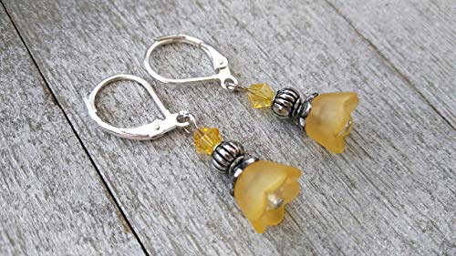 Lucite Beaded Earrings - 2