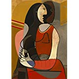 Canvas Prints Of Oil Painting ' Seated Woman ' , 20 x 28 inch / 51 x 72 cm , High Quality Polyster Canvas Is For Gifts And Foyer, Game Room And Hallway Decoration, sign printing