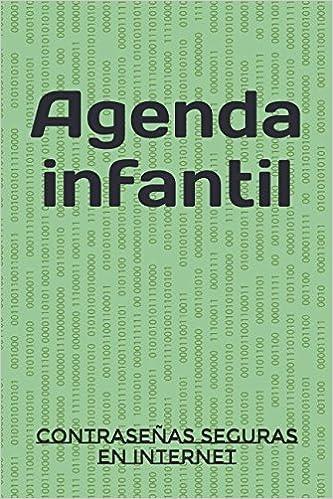 Agenda infantil: Contraseñas seguras en internet: Amazon.es ...