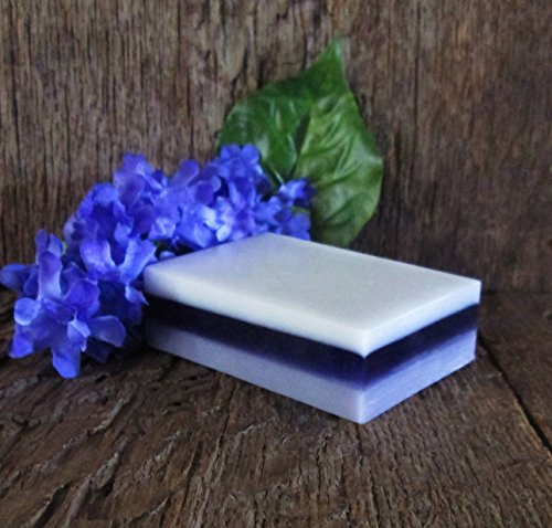 Lilac Spring Organic Glycerin and Shea Butter Layered Soap
