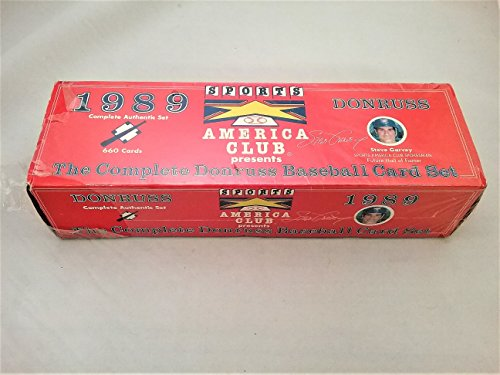 1989 Donruss Baseball America Factory Set Sealed ()