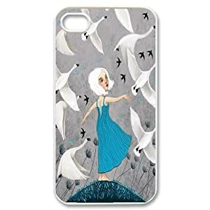 iphone covers Cute swan & ballet dance High Quality Pattern Hard Case Cover for For Iphone Case 4,4S color14