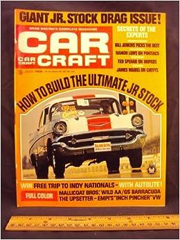 Car Craft Vw >> 1968 68 July Car Craft Magazine Volume 16 Number 7