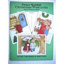 Peter Rabbit Christmas Postcards