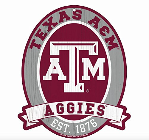 Texas A&M Aggies Wood Street Sign 11