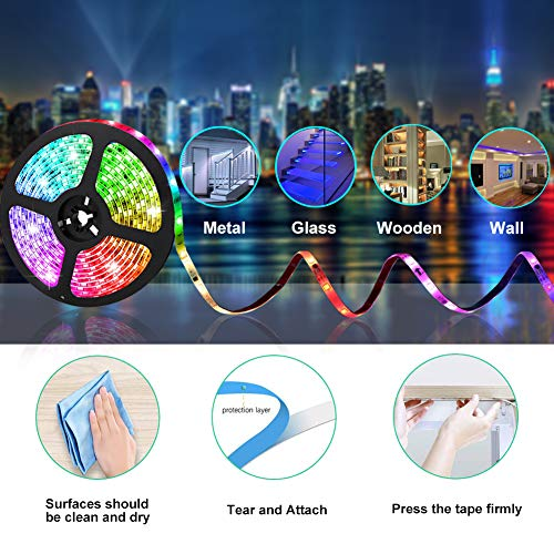 UMICKOO Remote Control Lights for Home