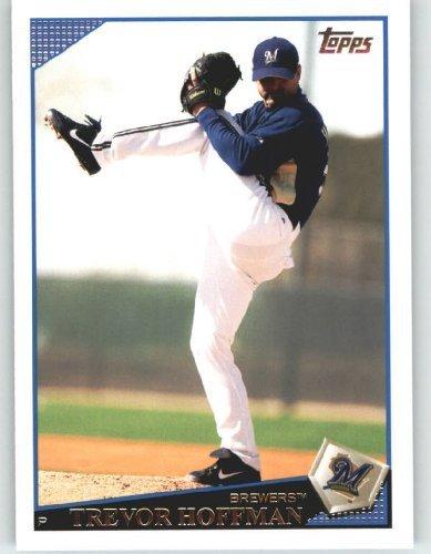 2009 Topps Baseball Card # 368 Trevor Hoffman - Milwaukee Brewers - MLB Trading -