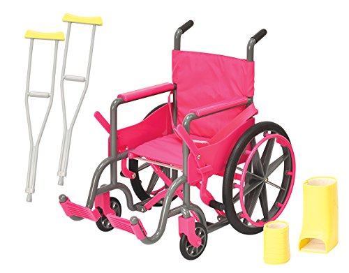 american doll wheel chair - 5