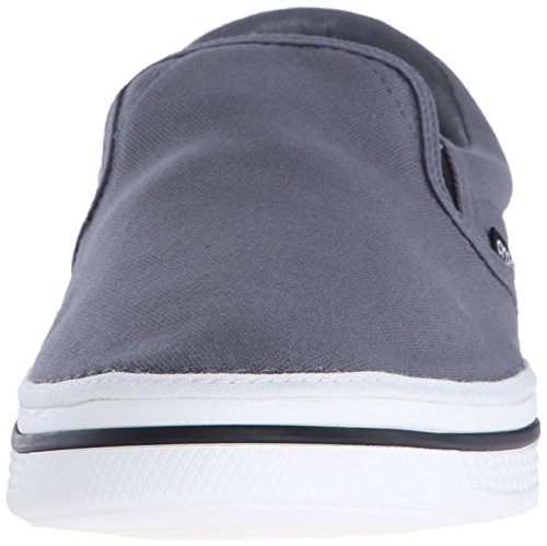 get to buy online exclusive sale online Crocs Men's Norlin Slip Low-Top Sneakers Grey (Charcoal/White) outlet 100% authentic YkEzL
