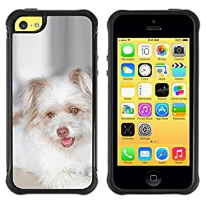LASTONE PHONE CASE / Suave Silicona Caso Carcasa de Caucho Funda para Apple Iphone 5C / West Highland White Terrier Puppy