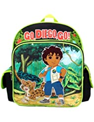 Mini Backpack - Diego - Green Jungle (Diego & Tiger)