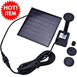 Home Water Treatment Aeration Solar Water Panel Power Fountain Pump Kit Pool Come with a solar battery, and charged by the sun Garden Pond Watering Submersible Save water as far as possible