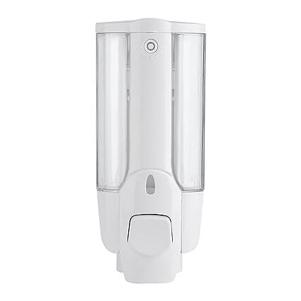 Dispensador de Jabón Líquido y Desinfectante para Manos con Extremo de Cierre Manual Operado Montado en