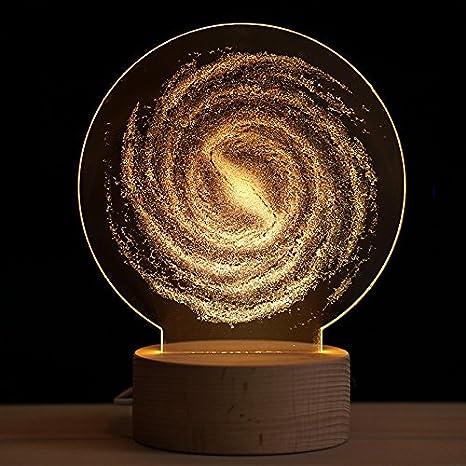 3D la tierra, la luna, la luz de la luna, don lámpara de ...