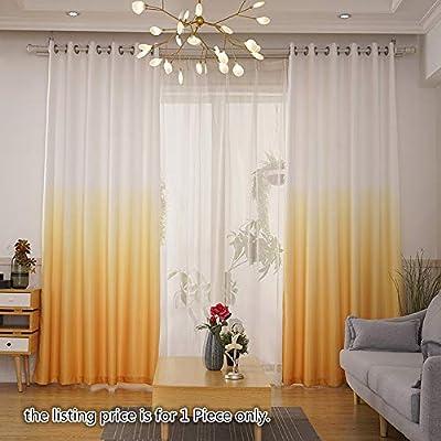 Tiyana - Cortina de lino y algodón para salón, moderna, rústica ...
