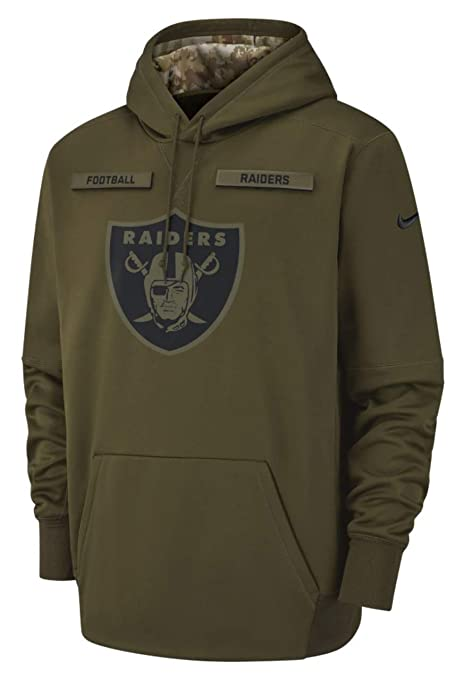 official photos b1917 ec411 Amazon.com : Oakland Raiders 2018 NFL Salute to Service ...