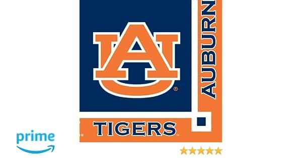 amazon com auburn tigers beverage napkins 20 count toys games rh amazon com Auburn Tigers Wallpaper Auburn Tigers Wallpaper
