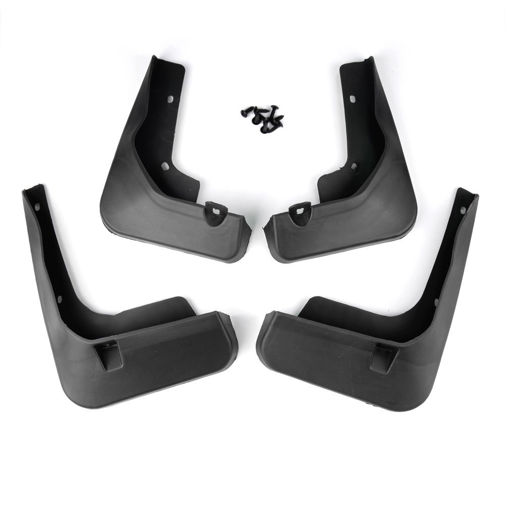 4PCS Mud Flaps Splash Guards Fender Mudguard For 2012-2016 Toyota Camry 4-Doors