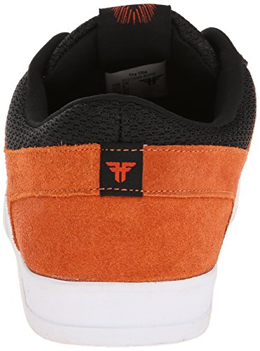 FALLEN VIBE BURNT ORANGE/BLACK SANDOVAL Signature Skate Shoes