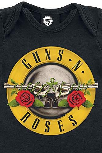 Guns N Roses Bullet Body Negro 68//74