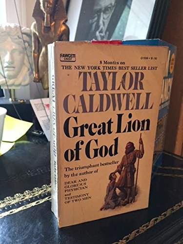 By Taylor Caldwell - Great Lion of God (1983-02-27) [Mass Market Paperback]