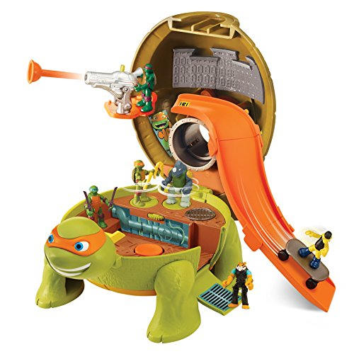 [Teenage Mutant Ninja Micro Michelangelo's Skate Park Pet Turtle To Playset] (Teenage Mutant Ninja Turtles Raph)