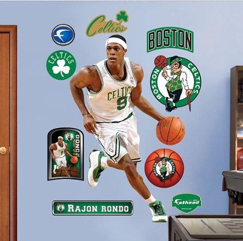 (Fathead NBA Boston Celtics Rajon Rondo)