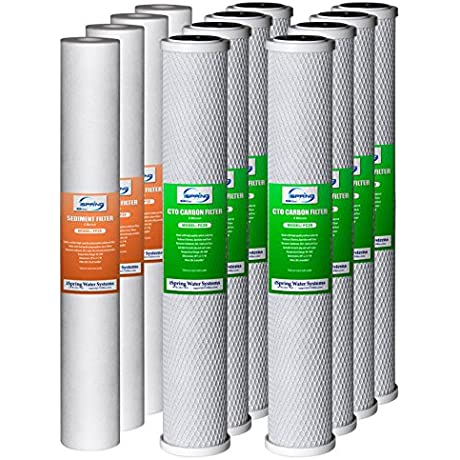ISPRING F12WCB32 O 20 Inch By 2 5 Inch Water Filter Replacement