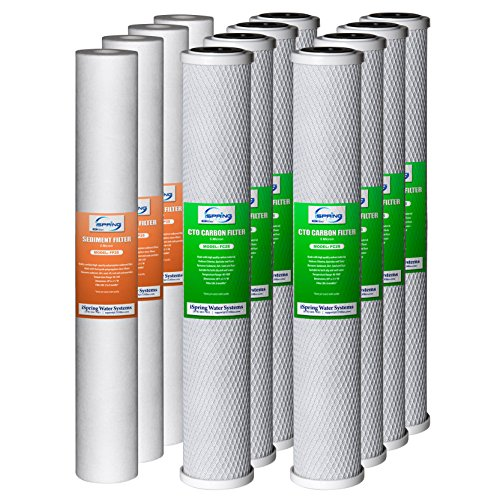 iSpring F12WCB32-O 20-Inch by 2.5-Inch Water Filter Repla...