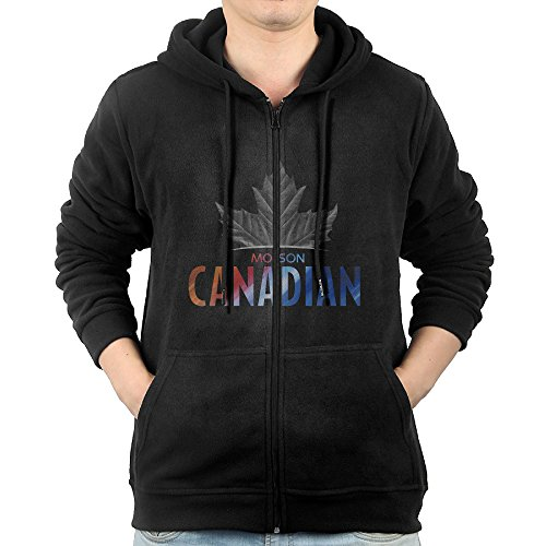 men-molson-canadian-zipper-hoodie-black-sweatshirt-with-pockets-x-large