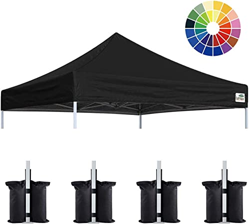 NEW EZ Up Canopy Top Replacement Outdoor Sunshade Tent Cover For 10/'x10/' 10x20/'