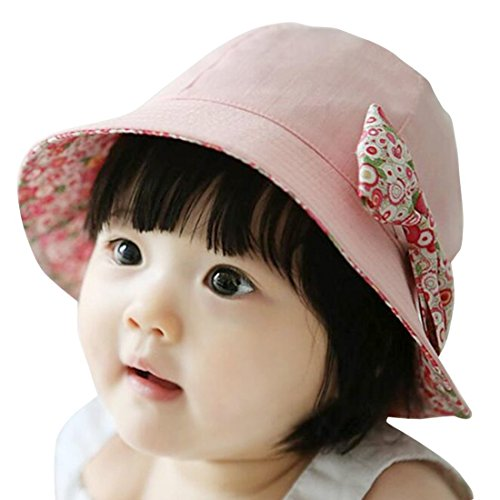 d4b52e30 Galleon - 2-4 Years Baby Kids Girls Boys Summer Sunhats Star Neck Protect  Hat By Viva Fancy
